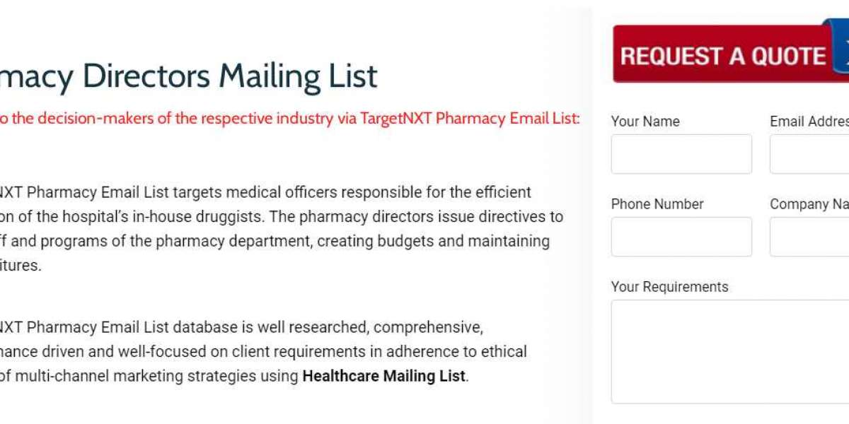 Pharmacists Email List