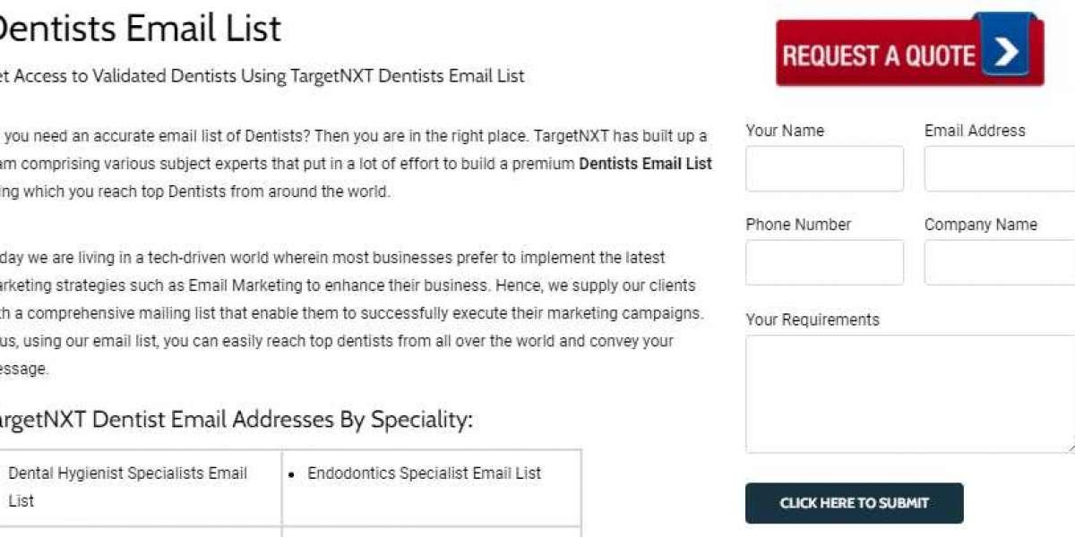 Dentists Mailing List